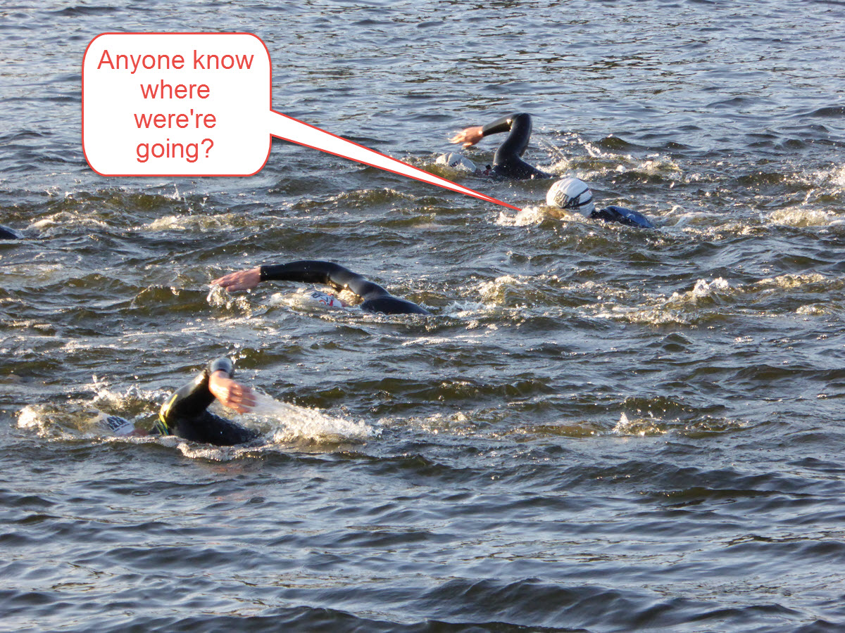 Why your open water swim training should be more than just doing laps